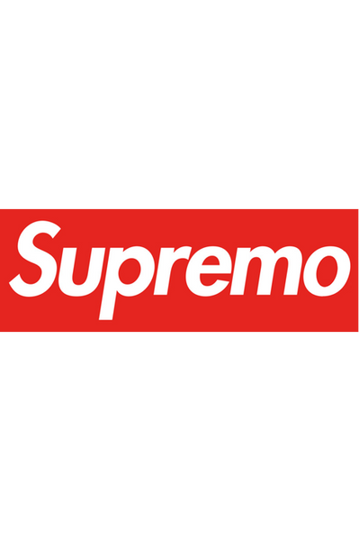 Supremo Sticker