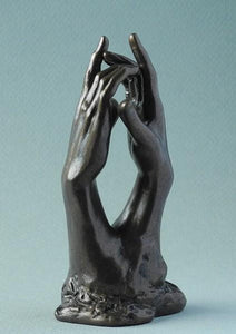 Rodin - Pocket Art Study for the Secret Clasping Hands 11cm PA20RO