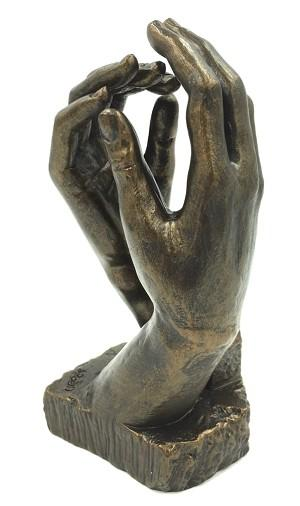 Rodin - Cathedral Clasping Hands 18cm RO26