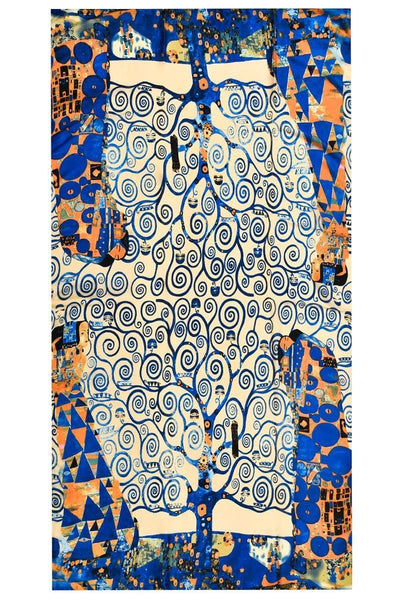 Klimt Tree of Life Silk Scarf