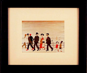 Scene 4 by L S Lowry Framed Art