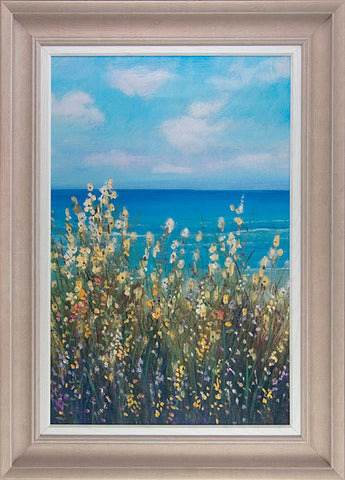 Flowers at the Coast II Framed Art