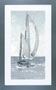 Grey Seas 2 Framed Art