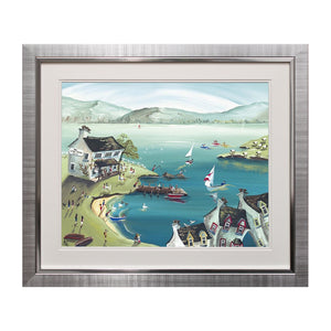 Lakeside Inn Framed Art