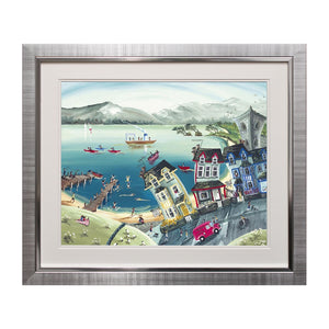 Lakeshore Guesthouse Framed Art