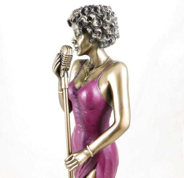 Jazz Musician Figurine - Female Singer