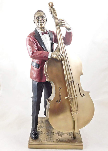 Jazz Musician Figurine - Bass Player