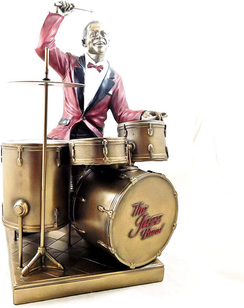 Jazz Musician Figurine - The Drummer