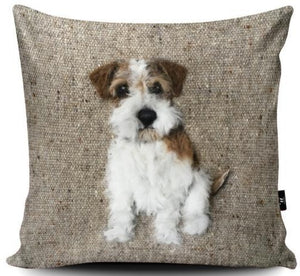 Cushion - Rough Haired Jack Russell