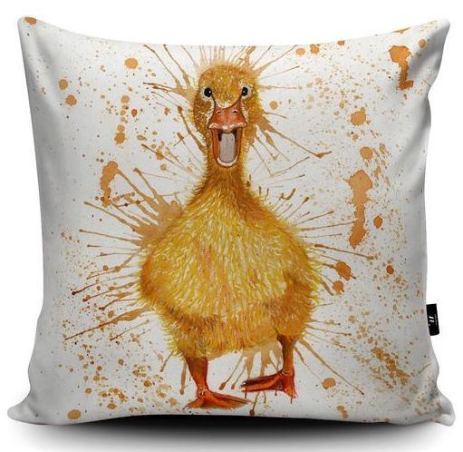 Cushion - Splatter Duck
