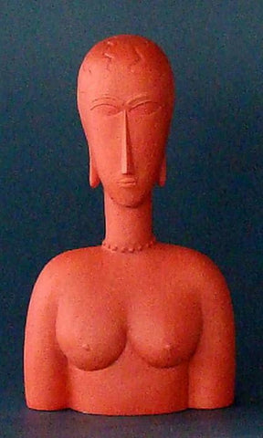 Modigliani - Red Bust MO14