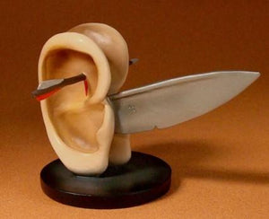 Hieronymus Bosch - Ear with Knife -Small -JB02