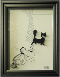Dubout Cats Shadow Frame - Cutie DUB206