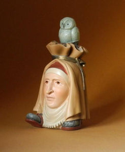 Hieronymus Bosch - Headfooter with Owl JB27