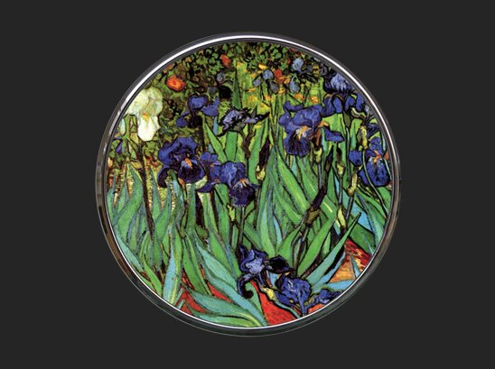 Pocket Mirror - Van Gogh - Irises M09GO