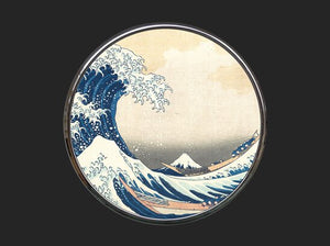 Pocket Mirror - Hokusai - The Great Wave M13HOK