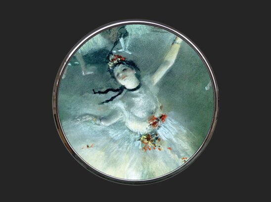 Pocket Mirror - Degas - Dancer M14DE
