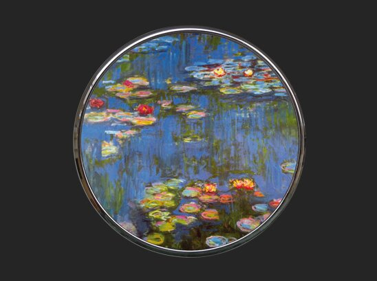 Pocket Mirror - Monet - Water Lilies M15MO