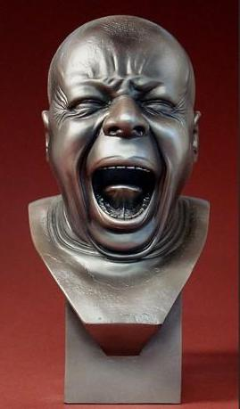 Messerschmidt - The Yawner Pocket Art Statue 9cm PA14ME