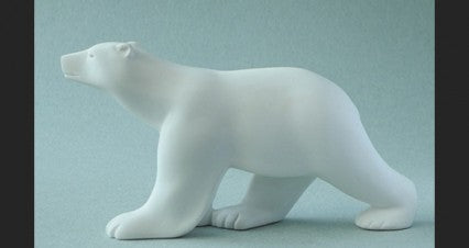 Pompon Pocket Art - Polar Bear 6cm PA05POM