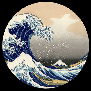 Glass Paperweight - Hokusai - The Great Wave PHOK1