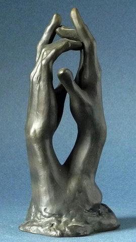 Rodin - The Secret Clasping Hands 14.5cm RO15