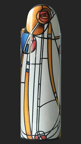 Silhouette d'art Vase by John Beswick - Mackintosh - Rose Boudoir SDA37