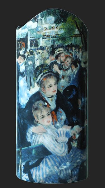 Silhouette d'art Vase by John Beswick - Renoir - Ball at The Moulin SDA30