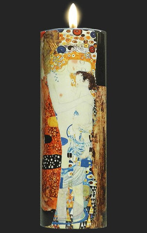 Tall Tea Light Holder - Klimt - The Three Ages of Woman TC06KL