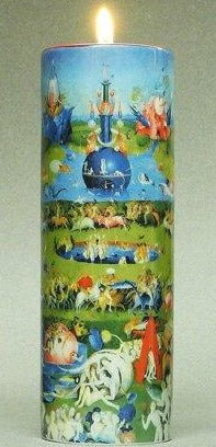 Tall Tea Light Holder - Bosch - Garden of Earthly Delights TC12JB