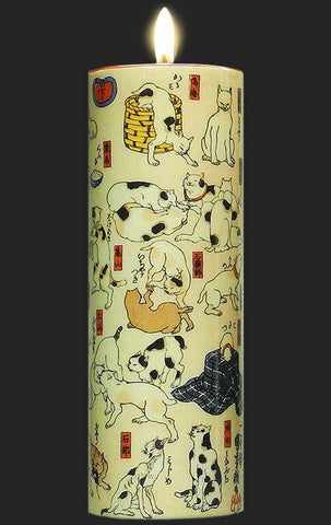 Tall Tea Light Holder - Kuniyoshi - Sono mama Jigushi TC17KU