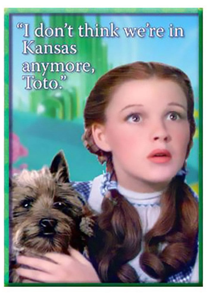 Image result for toto we're not in kansas anymore