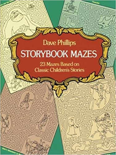 Storybook Mazes (Dover Children's Activity Books)