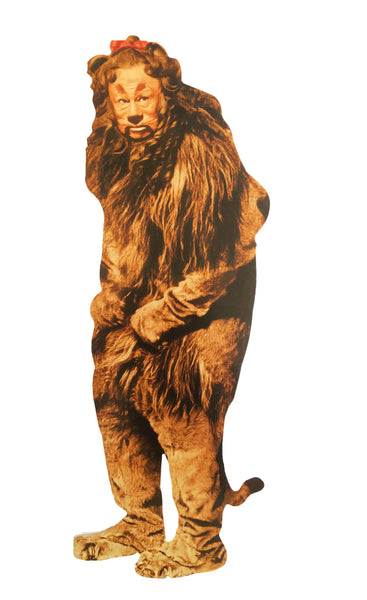 Cowardly Lion Greeting Card