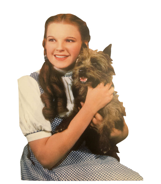 Dorothy and Toto Blank Greeting Card