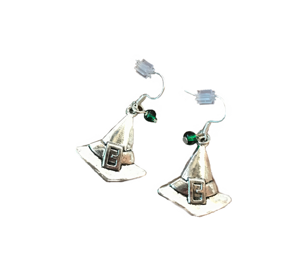 Wicked Witch Hat Earrings