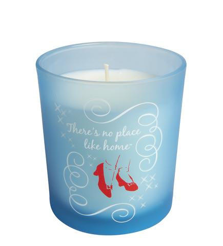 No Place Like Home Glass Candle
