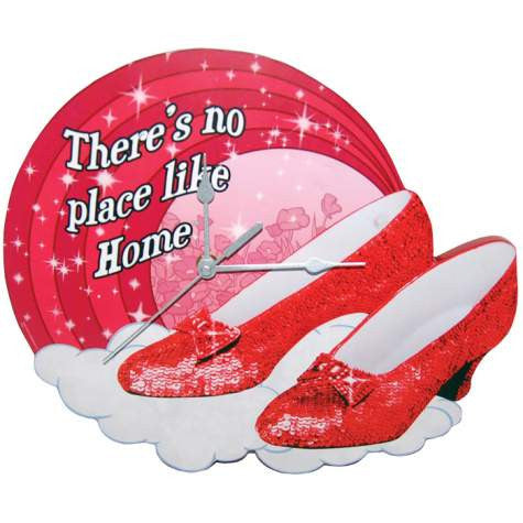Ruby Slippers Wall Clock
