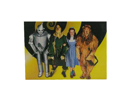 Wizard of OZ Cast on Swirl Magnet