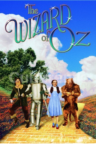 Wizard of Oz Foursome Poster