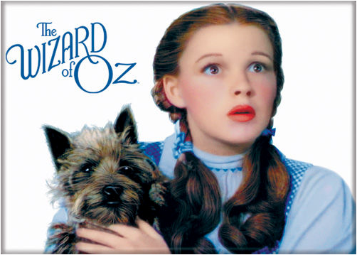 Dorothy and Toto Magnet