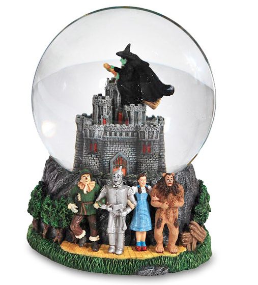 Wicked Witch Castle Waterglobe
