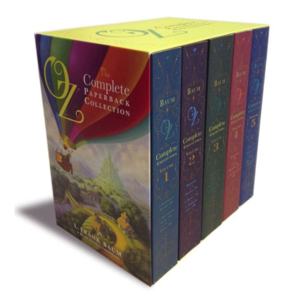 The Complete 5 piece Paperback Oz Book Collection