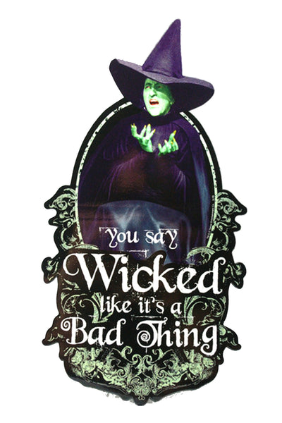 Wicked Witch Car Magnet