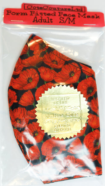 Poppies Mask