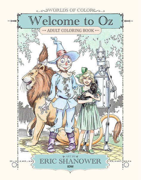 Welcome to Oz Adult Coloring