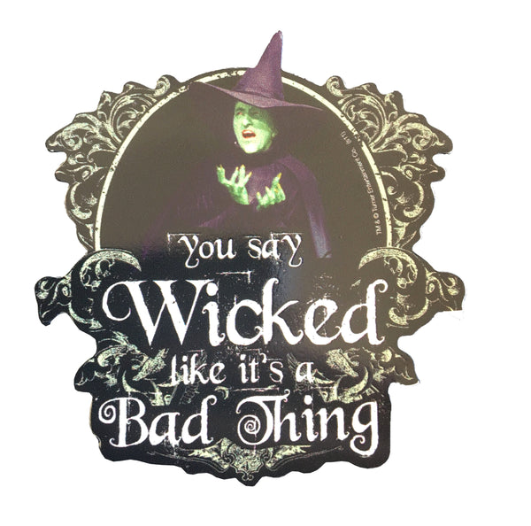 Wicked Witch Indoor and Outdoor Magnet