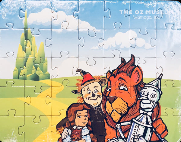 Denslow 4 Character Puzzle