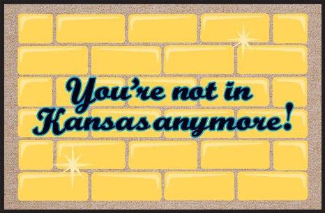 You're Not in Kansas Anymore Doormat