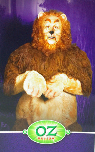 Cowardly Lion Post  Card